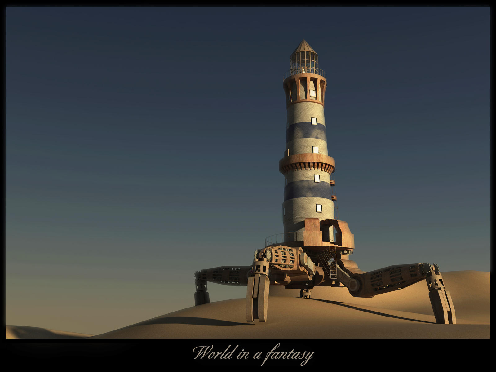 Lighthouse by Rennavar