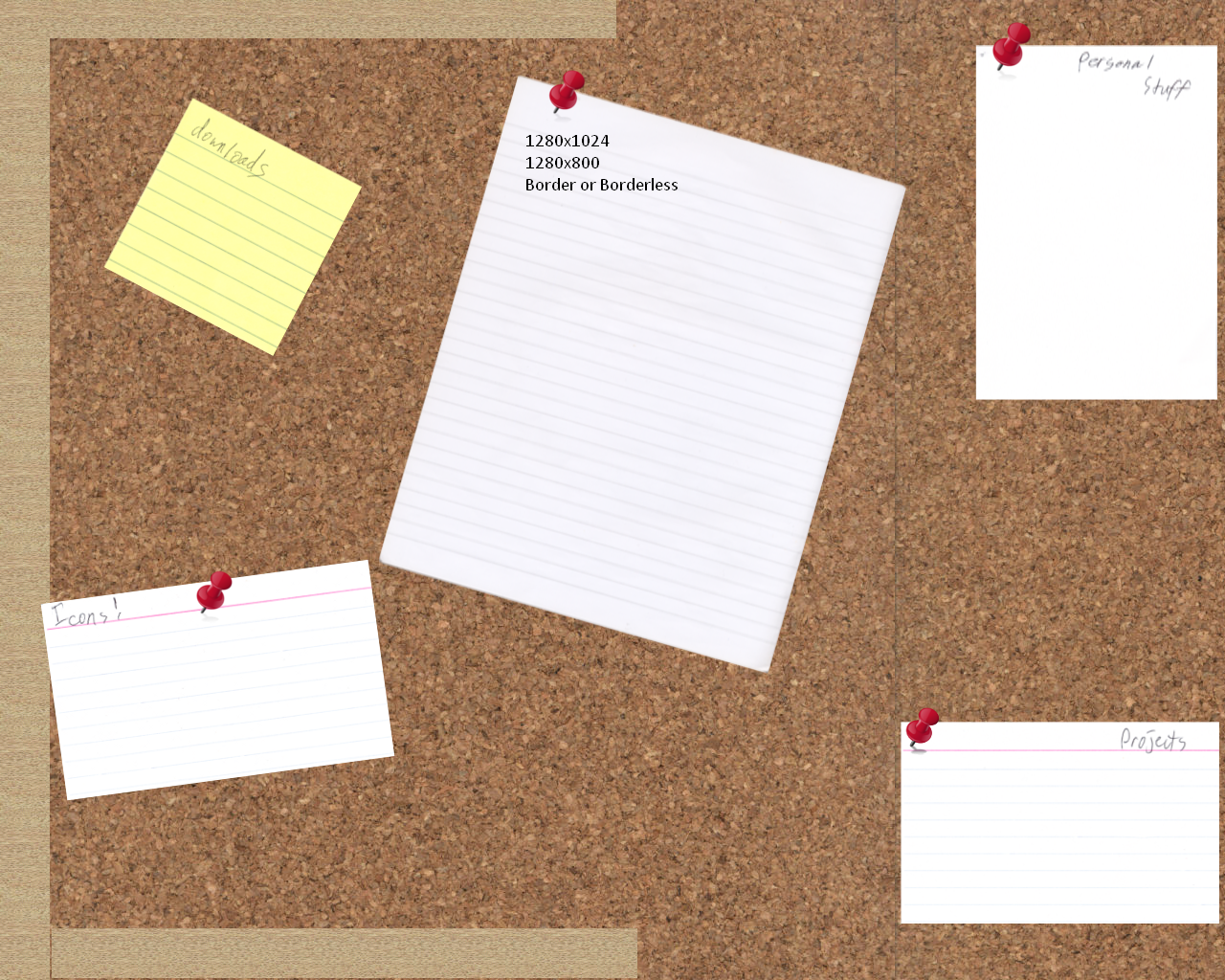 Corkboard wallpaper by camtheguitarist on deviantart for How to make a bulletin board without cork