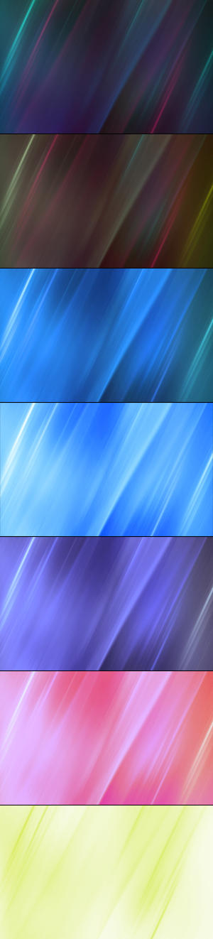Colors in Motion WallpaperPack by XClimax