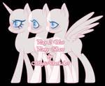 [P2U] Pony Base by MagicDarkArt