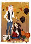 Animated commission halloween by Lemanntim