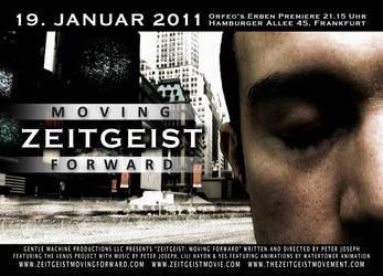 Zeitgeist Moving Forward Flyer by zginversion