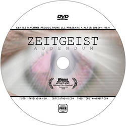 Zeitgeist Addendum DVD Label by zginversion