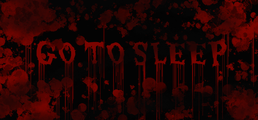 Jeff The Killer GO TO SLEEP Wallpaper By Asher64