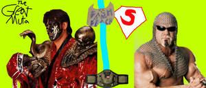 Great Muta Vs Scott Steiner