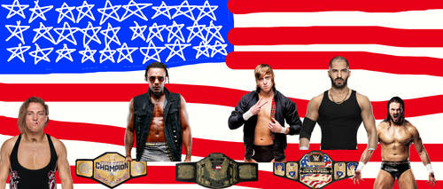 Who should be the next WWE US Champ! by DraginKYle44
