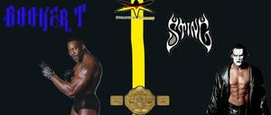 Booker T Vs Sting WCW Title Match