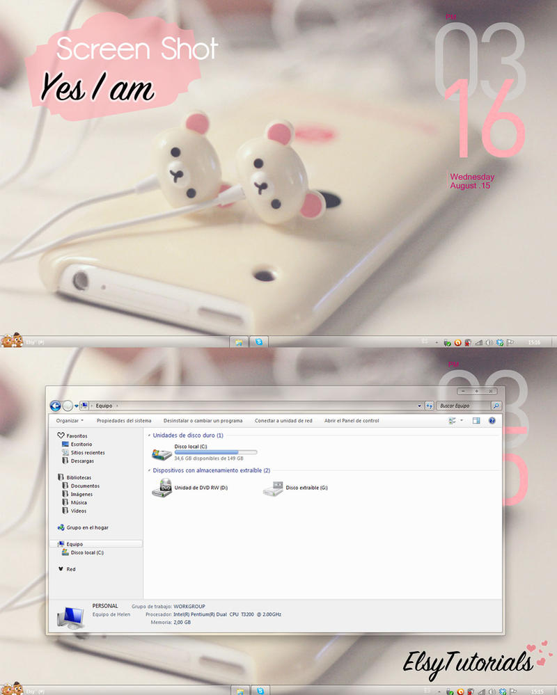 ScreenShot Yes I am by ElsyTutorials