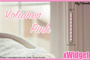 Volumen Pink xWidget by ElsyTutorials