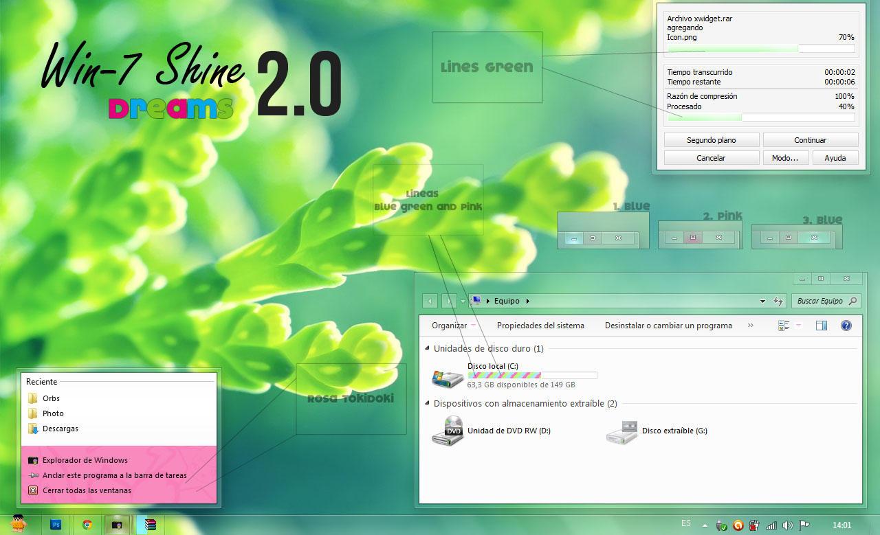 【Shine Dreams 2.0 - 绿色小清新】-立青