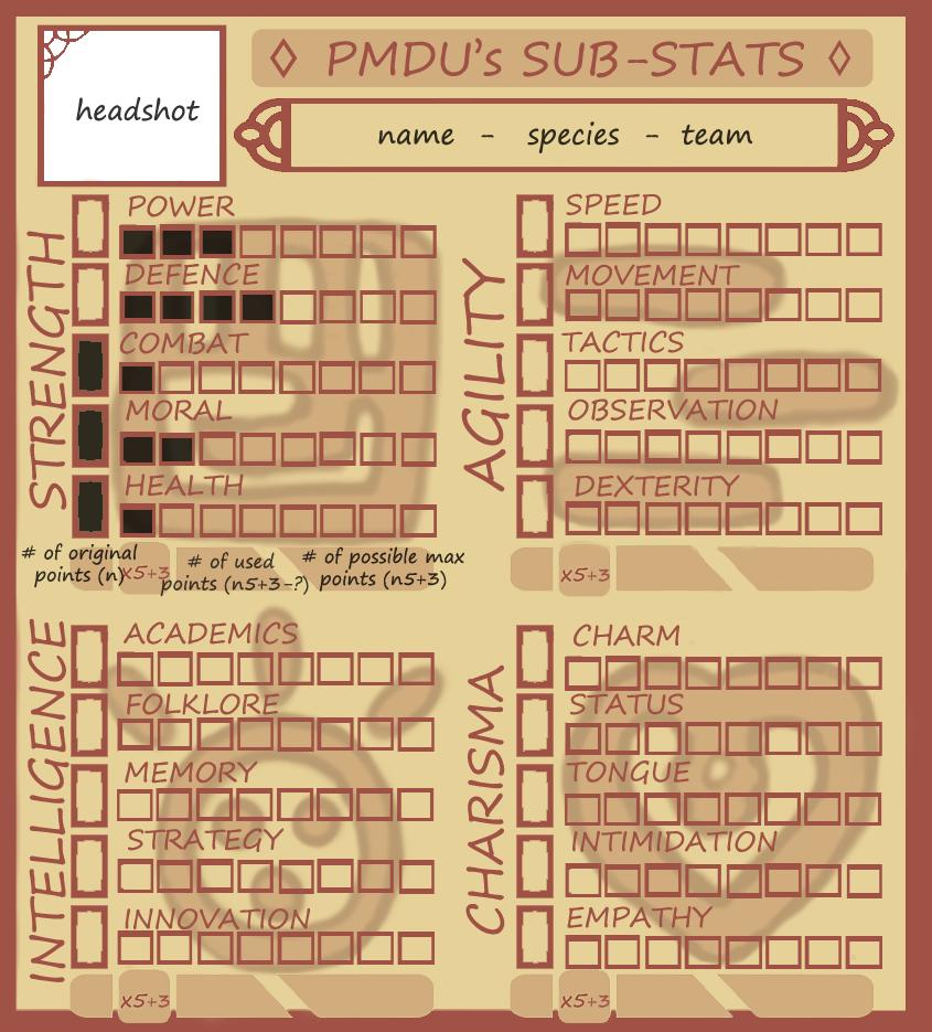 PMDUnity's SUB-Stats Meme (New) (NEW!) by ajentMM
