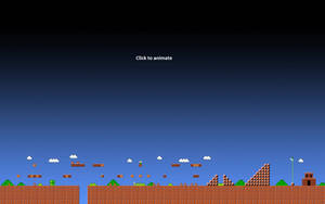 Super Mario 1-1 Animated Wallpaper Gif -1920x1200 by ColinPlox