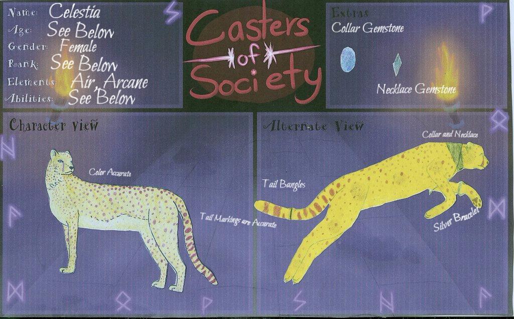 Celestia CoS Character App by Celestia912