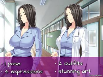 Nurse/Scientist/Doctor FREE TO USE SPRITE by Paradisuu
