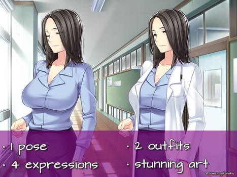 Nurse/Scientist/Doctor FREE TO USE SPRITE