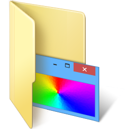 Windows 7 Folder Icon Customize Windows By Bleudiamant On Deviantart