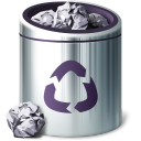 Icon Pack Trashcans by drouell