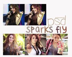 sparks fly PSD by ifeelhypnotised