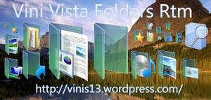 Windows Vista RTM Folders