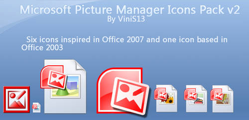 Microsoft Picture Manager Icon by Vinis13