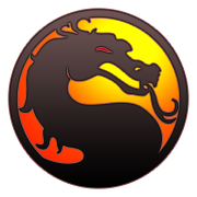 Mortal Kombat logo by Vinis13