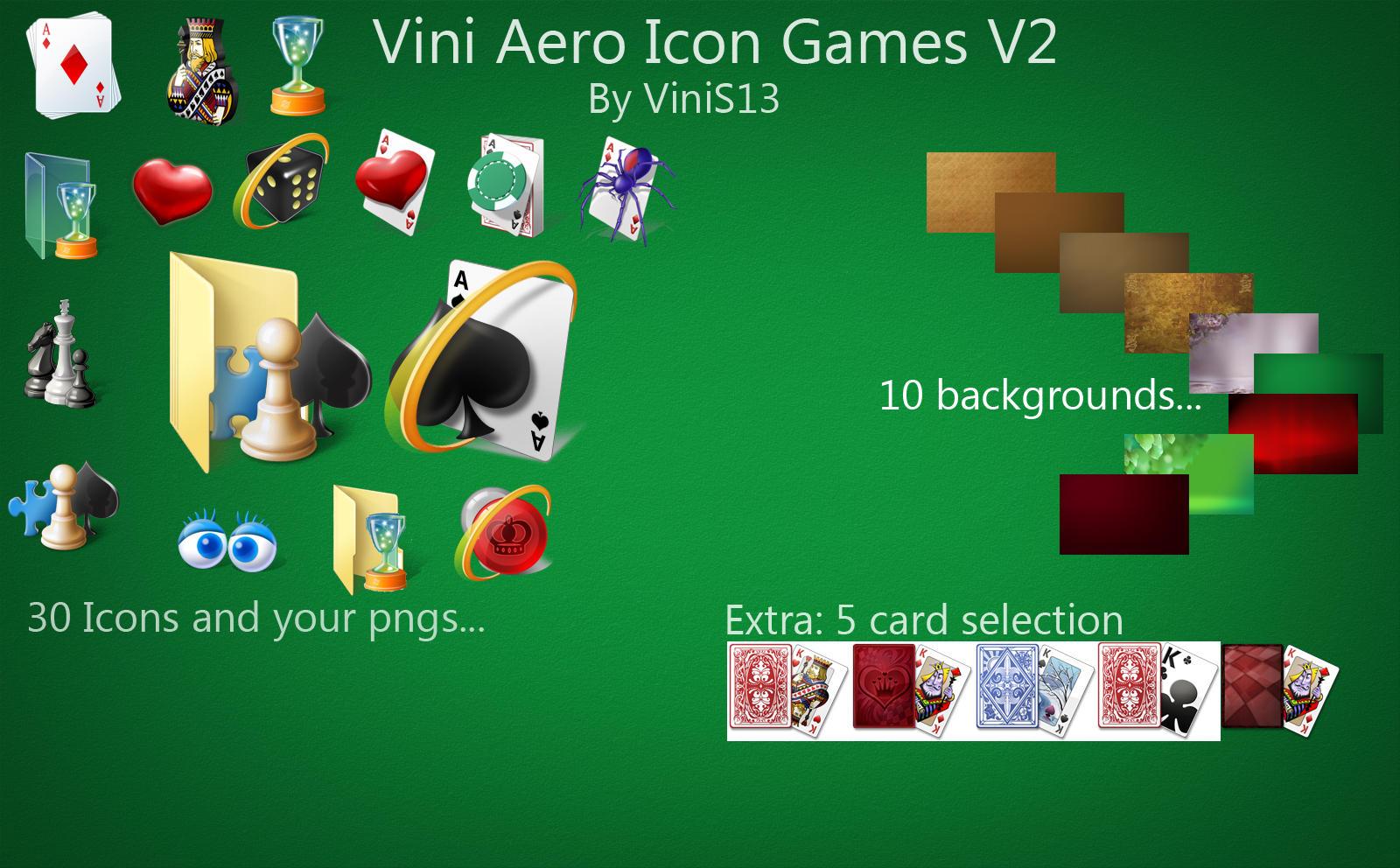 Vini Aero icon Games V2 by Vinis13