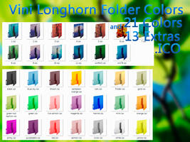 Vini Longhorn Folder Colors by Vinis13