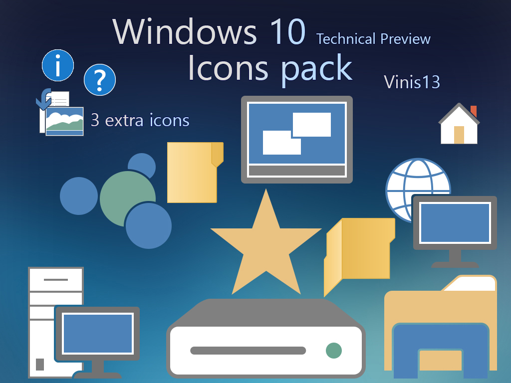 Windows 10 Icons By Vinis13 On DeviantArt