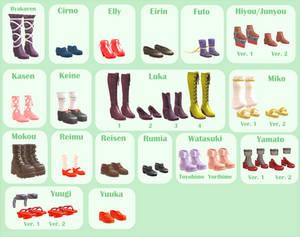 MMD - Montecore Shoe Pack DL