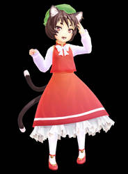 MMD Touhou - Montecore Styled Chen DL