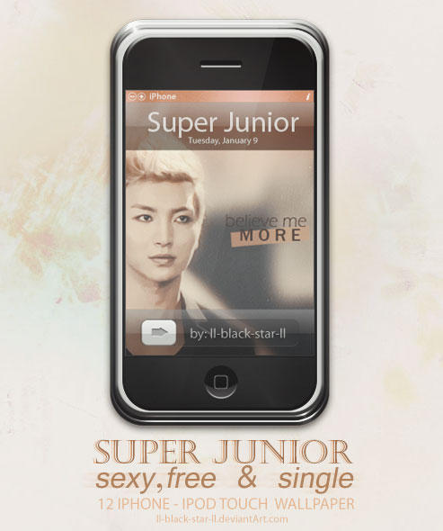Suju - 12 Iphone Wallpaper by ll-black-star-ll