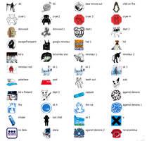 radiohead icons XP by 0-4