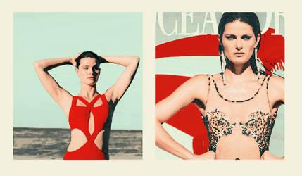 PSD Coloring / Isabeli Fontana by ju23bel