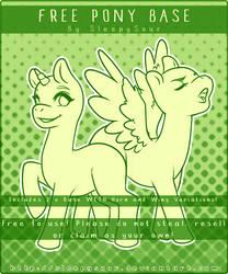 Pony Base #1 [F2U] by SleepySour