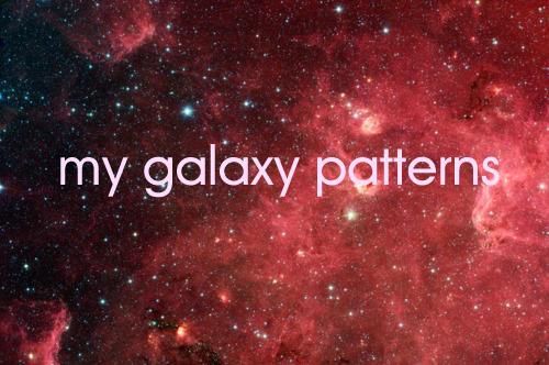 galaxy patterns by morenaraiz