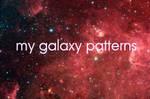 galaxy patterns