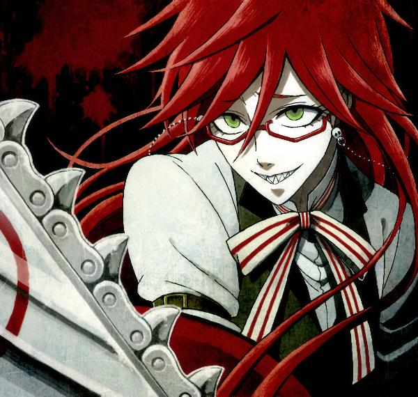 Grell X reader on BlackButlerXReaders - DeviantArt