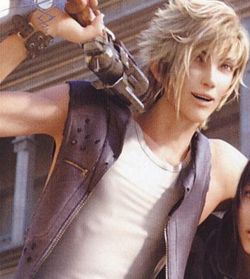 Final Fantasy Seven Minutes in Heaven Prompto by
