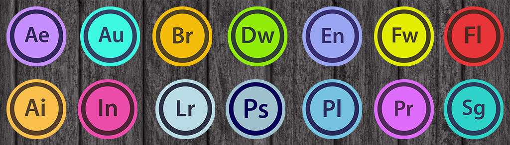 adobe cs icons rounded by chmaletzkyphoto on deviantart