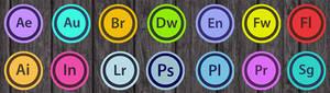Adobe CS Icons rounded