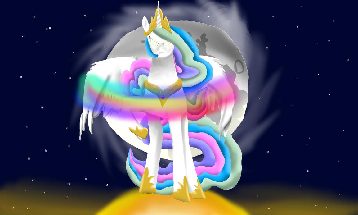 princess celestia vs nightmare - photo #39
