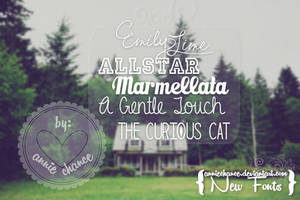 { New Fonts } by AnnieChance