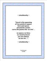 'Simultaneity' by SBricker