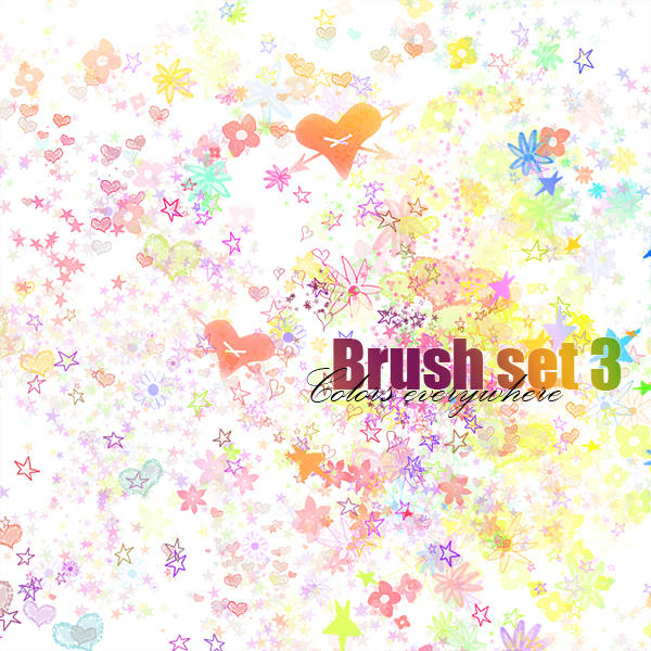 Colors everywhere - brush by Rogerdatter