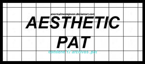 aesthetic pat ||patterns|| by anormalmentejoven