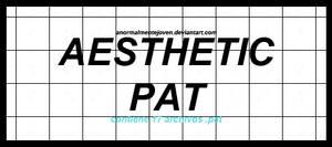 aesthetic pat ||patterns||