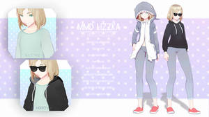 [MMD] Lizzka  =by Motsuno Haru= by MotsunoHaru