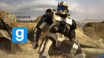 Spartan Benjamin Walker [SFM + GMOD Download] by Archangel470