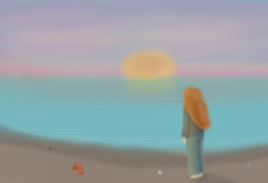 Beach by JuliaMegami