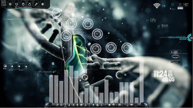 NanoSchematic Desktop for Rainmeter by ionstorm01